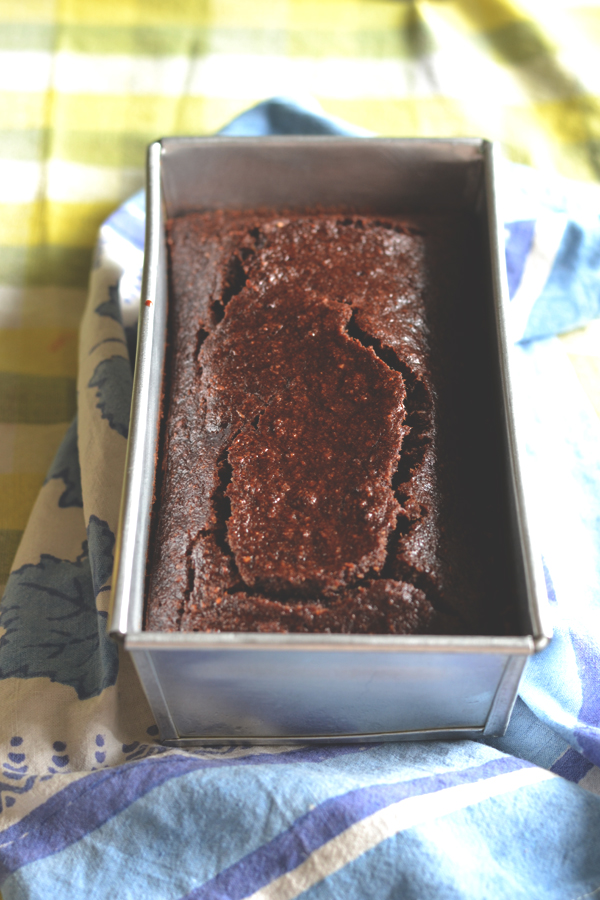 chocolate coconut banana bread