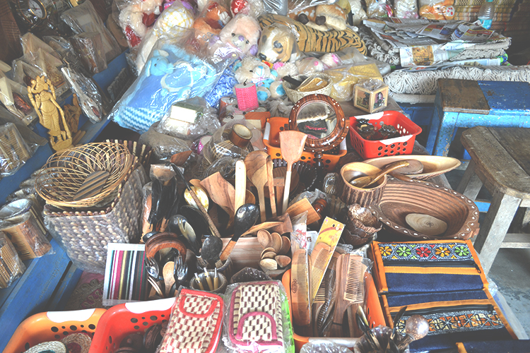 handicrafts at Digha