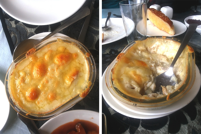 Fish Au Gratin, Glenary's - The Subjectivist